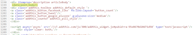 menambahkan tombol share blogger