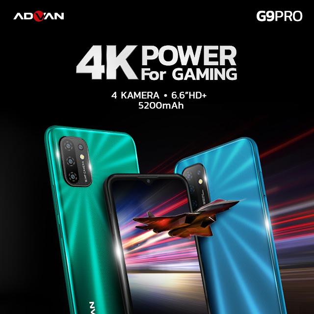 Layar dan Cover ADVAN G9 Pro
