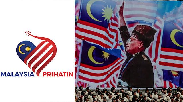 logo baru hari kebangsaan 2020 malaysia prihatin