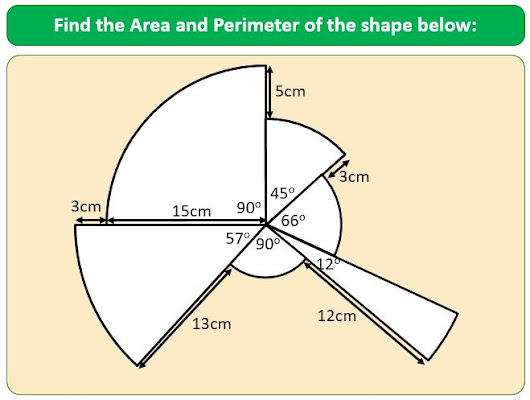 Area and Arc Length of Sectors Puzzle