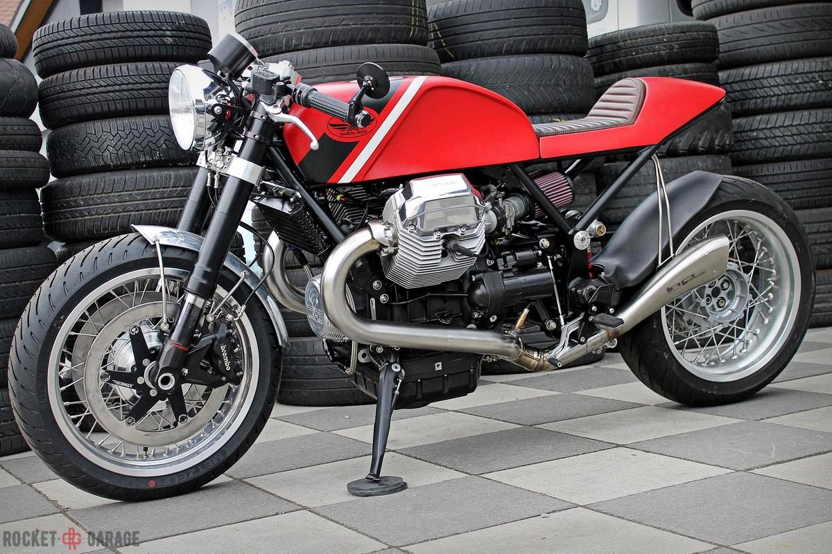 Radical Guzzi Bellagio - RocketGarage - Cafe Racer Magazine