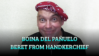 Boina del pañuelo, CHAPEAUGRAPHY, Beret from handkerchief