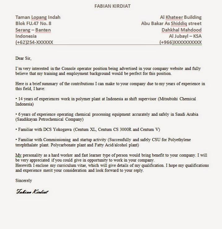 Komunitas Masyarakat Indonesia Jubail Ksa Contoh Cover Letter Bahasa Inggris