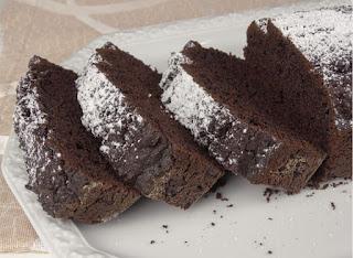 plumcake fatto in casa al cacao