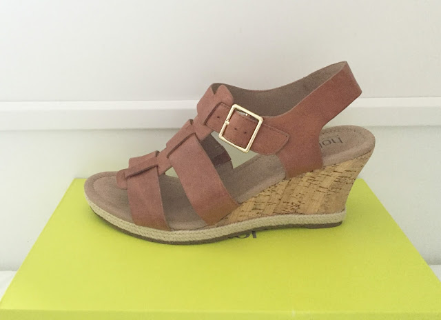 Hotter Roxanne Tan Wedges