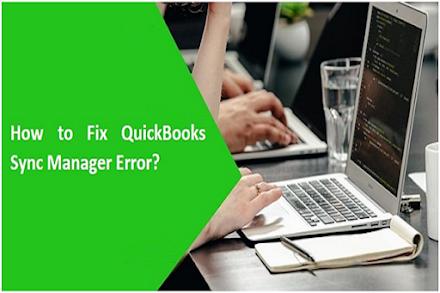 Resolve Quickbooks Sync Manager Error