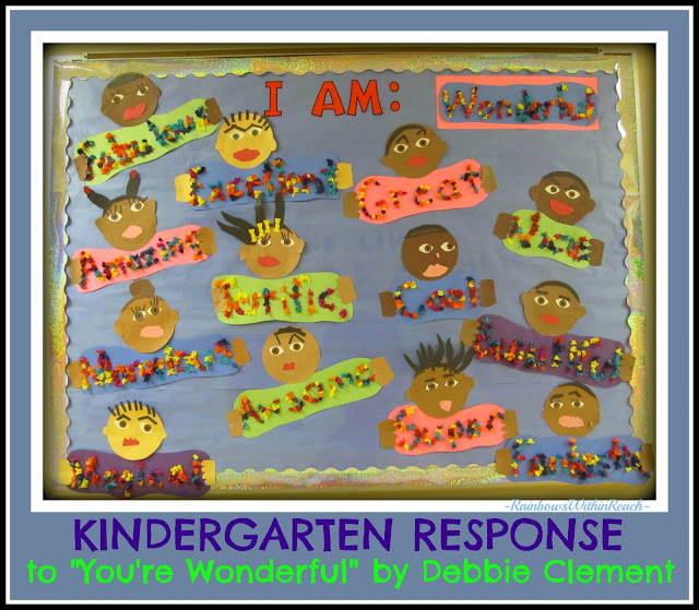 "photo of: Kindergarten Bulletin Board for Author Study ""You're Wonderful"""