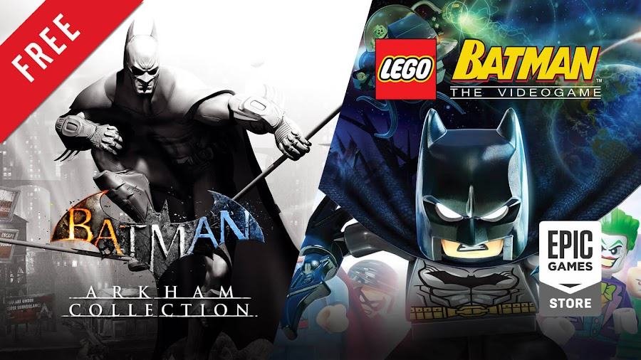 batman arkham collection lego batman trilogy free pc game epic games store rocksteady studios wb montréal