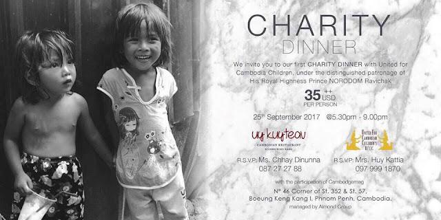Dîner de charité pour les enfants des bidonvilles