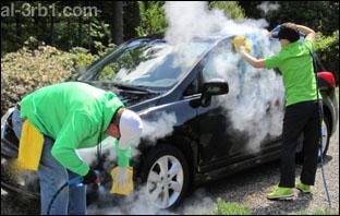 افضل طرق تنظيف السيارات