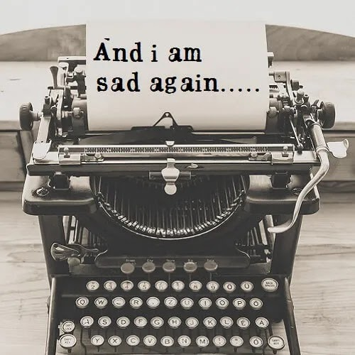 and i am sad again DP for girls