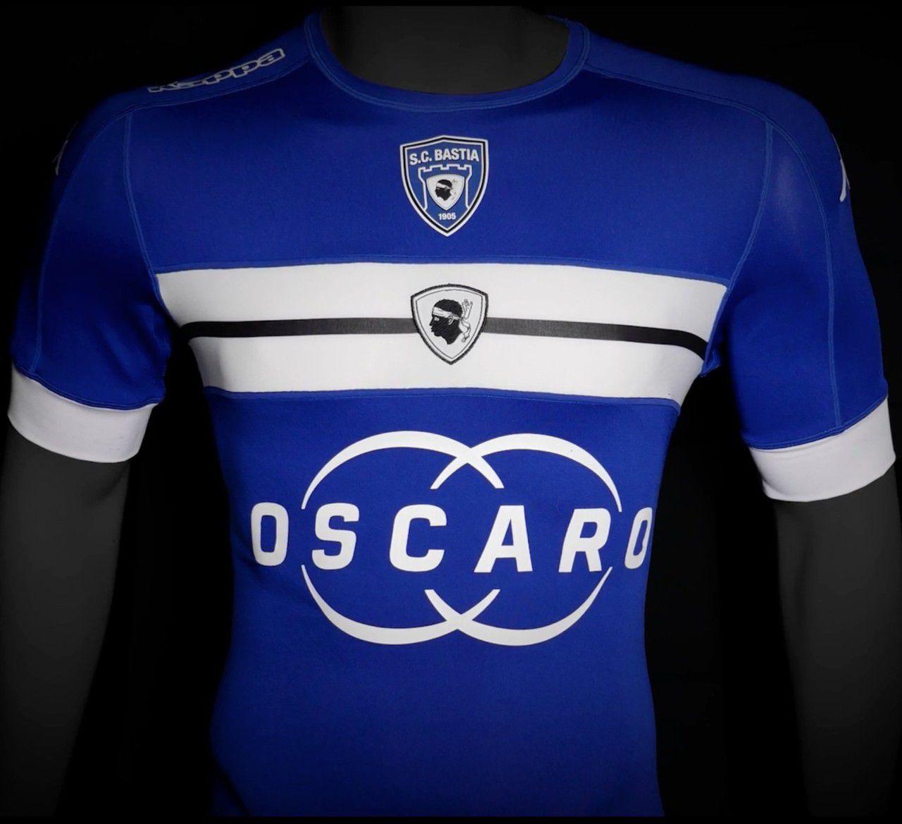SCバスティア 2016-17 ユニフォ...
