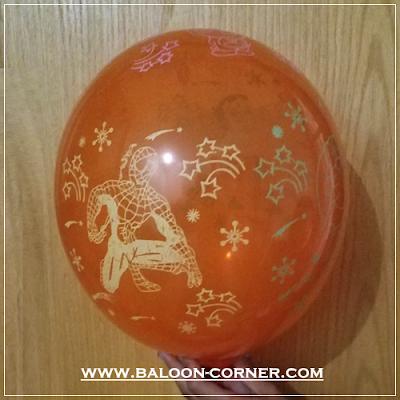 Balon Latex Print Karakter (MURAH)