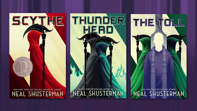 Best Sci-Fi Book Series for Young Adults Scythe Neal Shusterman