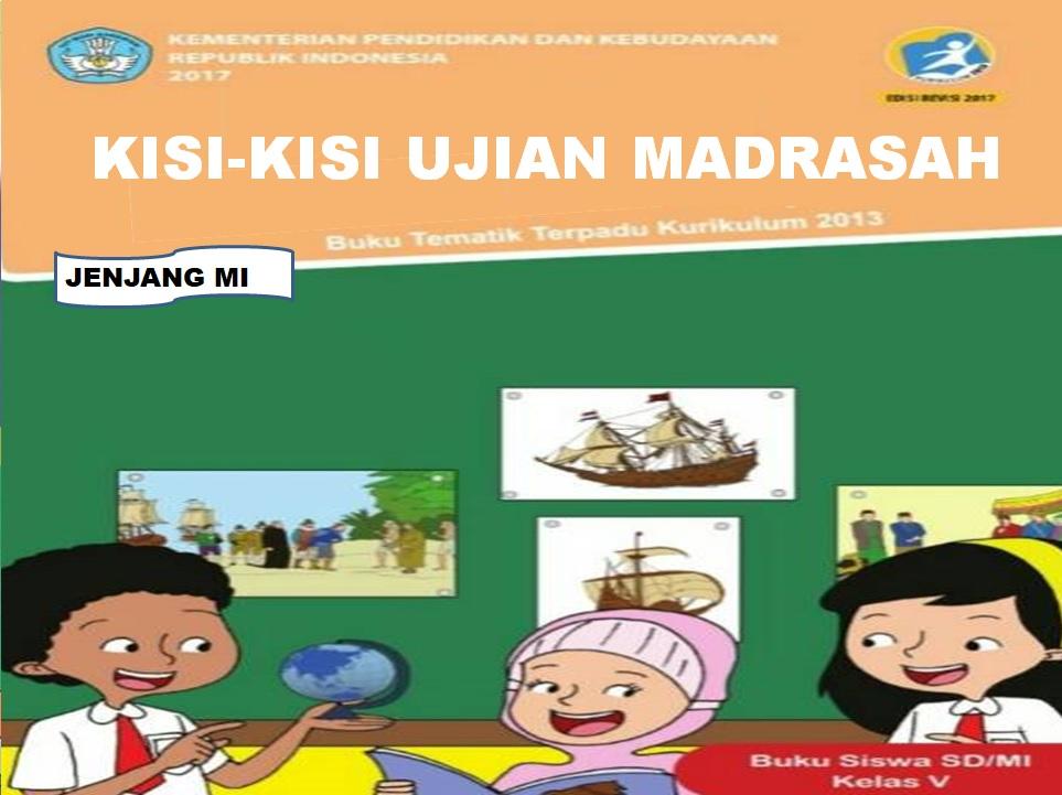Kisi-kisi Ujian Madrasah (UM) Mapel Umum