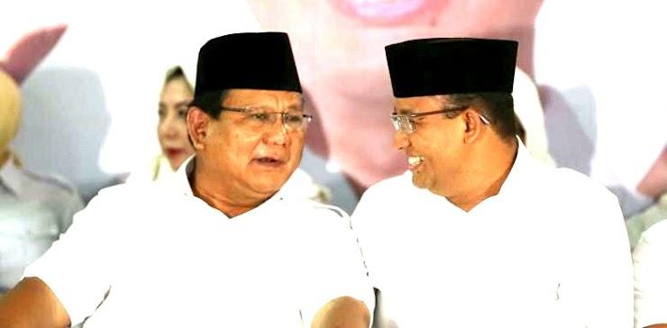 Peluang Prabowo Gandeng Anies Di Pilpres 2019 Terbuka Lebar