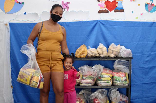 Distribuição de kit alimentação escolar contribui na segurança nutricional de estudantes