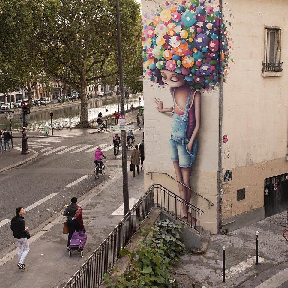 فن الشارع الجميل