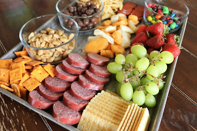 After School Sheet Pan Charcuterie Board