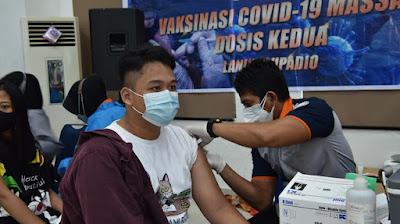 Lanud Supadio Gelar Serbuan Vaksin Dosis Kedua