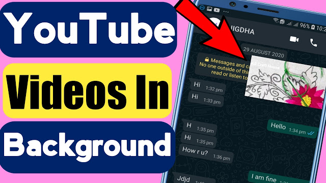 Watch YouTube Videos In Background