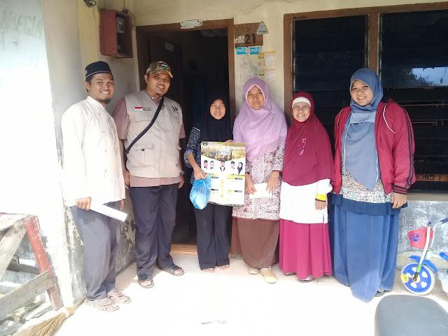 Jum'at Berkah, PKS Medan Area Berbagi Sembako
