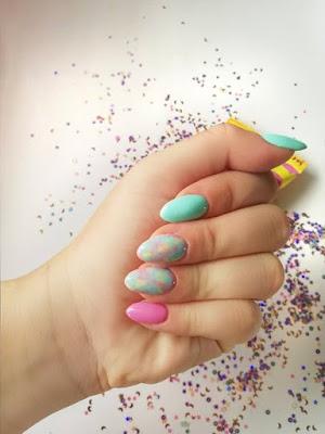 paznokcie | hybrydy | paznokcie hybrydowe | wzorki na paznokcie | tutorial