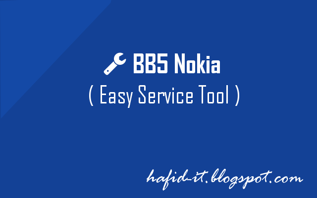 Cara Baru Flashing HP Nokia s60v3 dengan BEST ( BB5 Easy