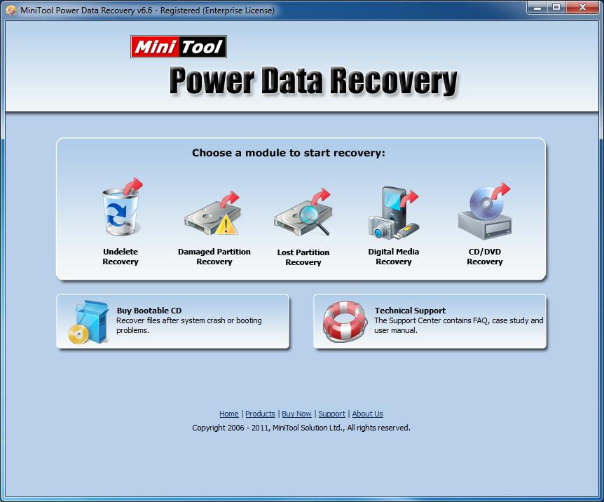 MINITOOL 6.5 GRATIS BAIXAR DATA RECOVERY POWER