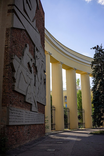 Колоннада памятник Волгоград