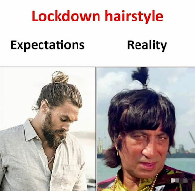 Memes on the hairstyle.
