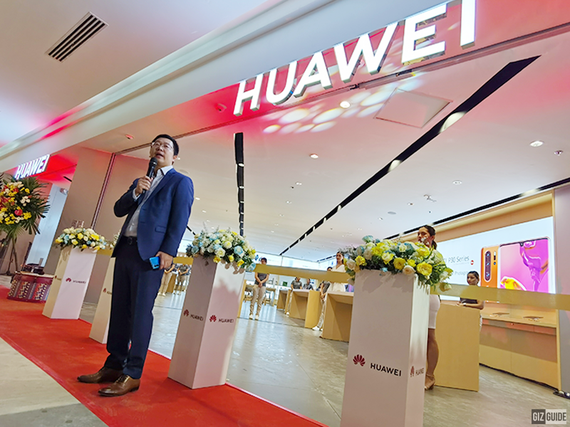 Huawei opens its first High-End Experience Store in Ayala Malls Manila Bay