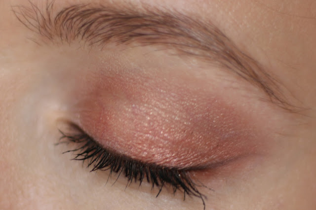copper eye makeup