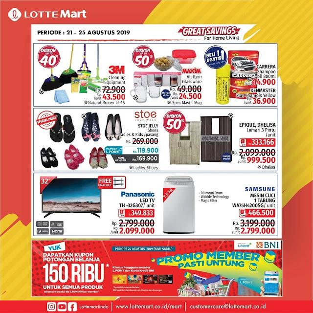 #LotteMart - #Katalog Promo Weekend Periode 21 - 25 Agustus 2019