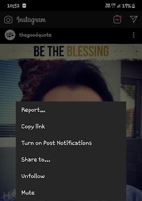 Share video option