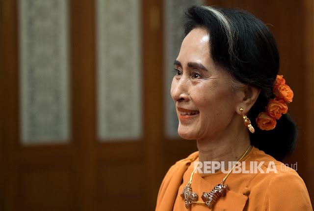 Myanmar Tangkap Tiga Wartawan Pengkritik Aung San Suu Kyi