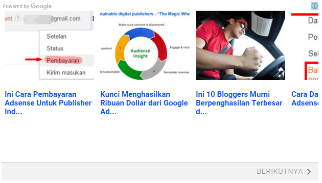 how to add matched content adsense