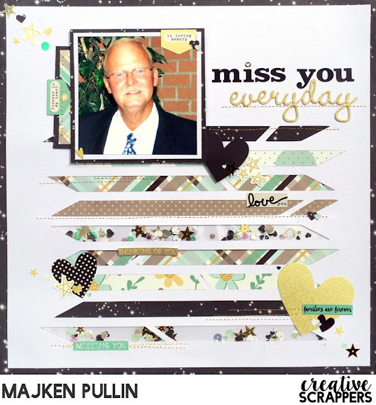 Miss You Everyday -- Creative Scrappers Sketch 296