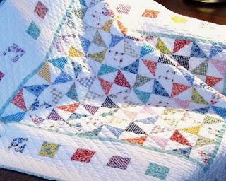 Precious Bundle Baby Quilt - Detail 2