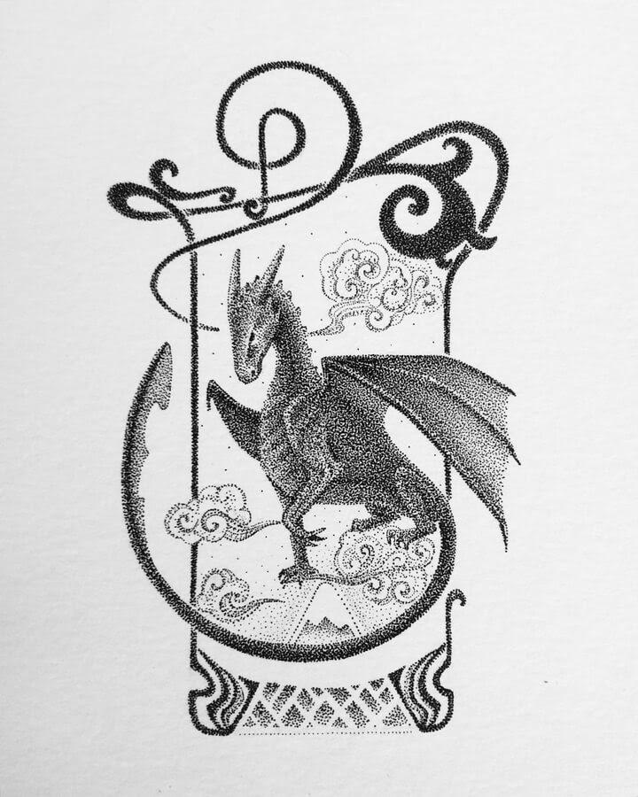 05-Imposing-Dragon-Maria-Lecanda-www-designstack-co