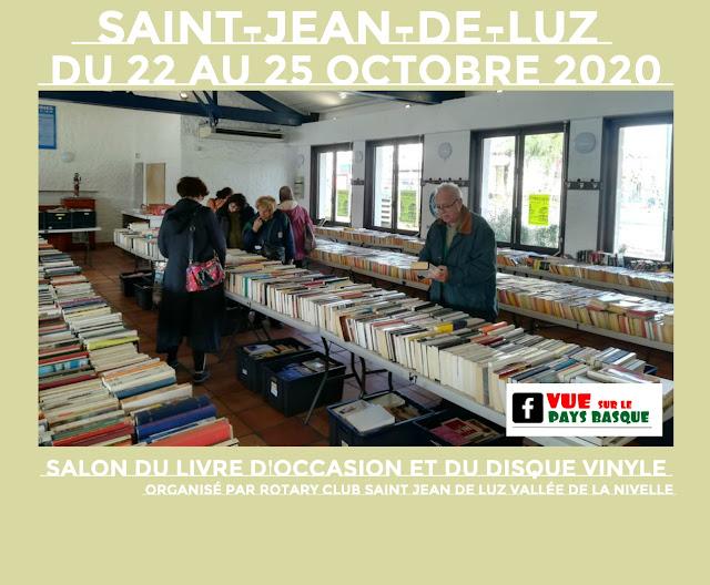 Salon du Livre et du Disque Vinyle Saint Jean de Luz 2020