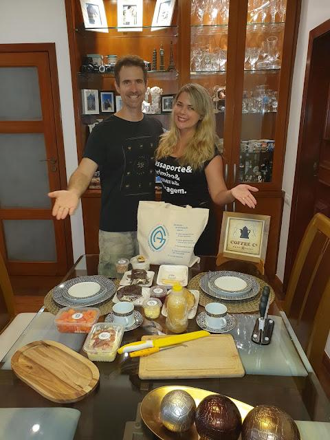 Blog Apaixonados por Viagens - Café da Manhã em Casa - Artigrano