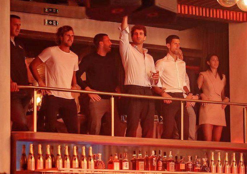 Las fiestas de Djokovic antes de contagiarse  de Covid-19