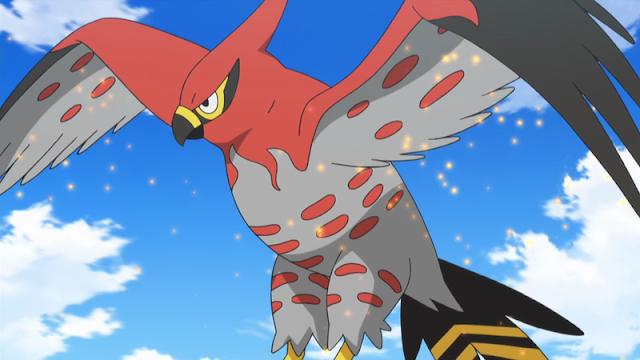 Talonflame Ash