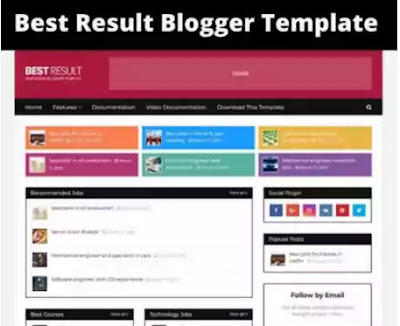 Best Result Blogger Template