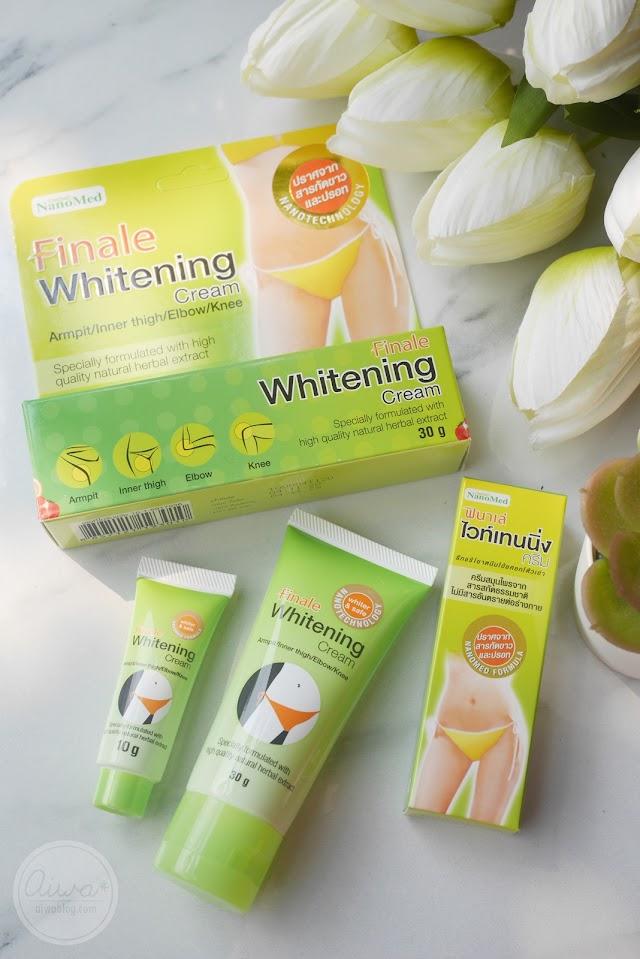 :: รักแร้ขาวขึ้นได้ในราคาหลักสิบ รีวิว Finale Whitening Cream ::