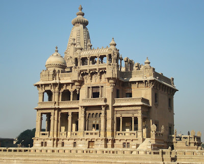 The Baron Palace before restoration works