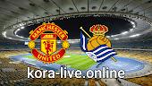 مباراة ريال سوسيداد ومانشستر يونايتد بتاريخ 18-02-2021 الدوري الأوروبي