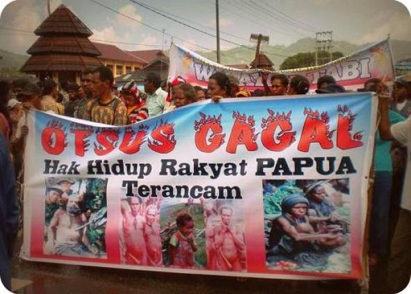 UU Otonomi Khusus No. 21 Tahun 2001 Diberikan Karena Tuntutan Papua Merdeka