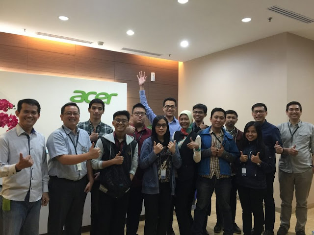 Lowongan Kerja PT. Acer Indonesia, Jobs: Channel Account Manager, IT Application Support.